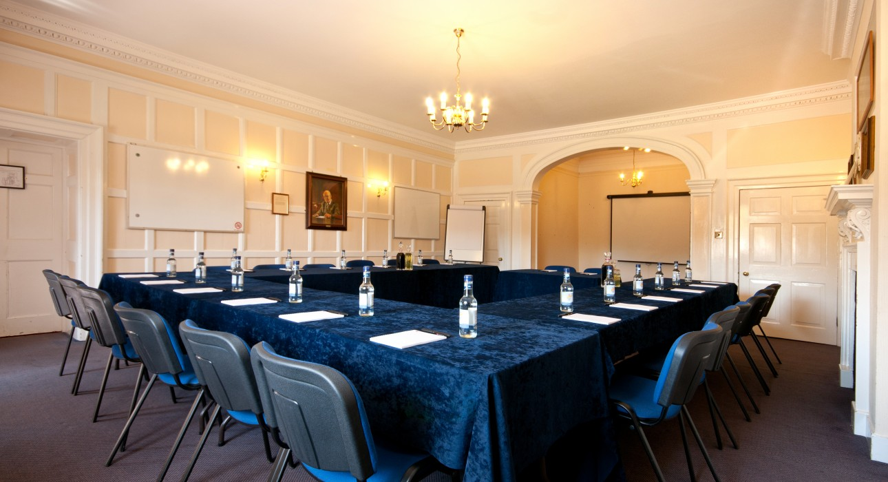 The Aslef room at Wortley Hall, Sheffield.