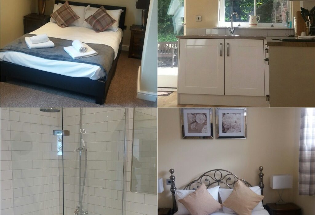 Cottage at Wortley hall, kitchen, bedroom and bathroom